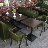 厂家定制餐厅/咖啡厅沙发卡座布艺沙发卡座尺寸定制卡座沙发报价价格