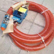 水平运输颗粒吸粮机 可提升高度吸粮机 润华倾斜输送机