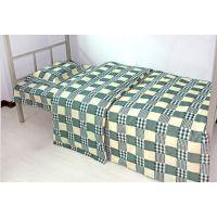 学生宿舍三件套 学生单人纯棉被套床单枕套 150*200cm 可定做批发