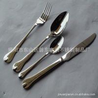 不锈钢餐具刀叉匙 A级婚庆木彩盒24、28件套装JR200