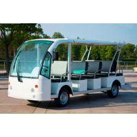 供应电动游览观光车电动旅游观光车四轮电瓶车环保纯电动观光车11-14座型号XY-YL14