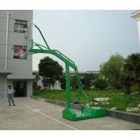 广西南宁户外标准篮球架 学校比赛箱式 凹箱移动球架带轮子千人顶 便捷耐用康腾体育