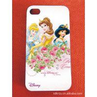 厂家直销 迪士尼公主 IPHONG4/5外壳 苹果手机保护套