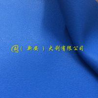 工厂直批 1.4mm纳帕纹PU人造革 高品质针织底箱包沙发面料皮革