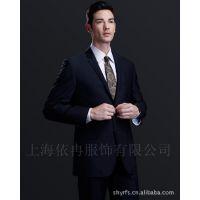 修身 男士西服 职业装 工作服 含毛 西服套装 西服批发