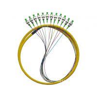 12芯束状尾纤 单模光纤跳线 电信级 厂家优质供应 可供订制