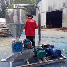 优质粉末料自动吸粮机 小型车载吸粮机 可移动软管输送机a88