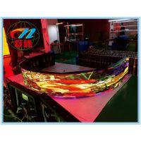 彩能光电 P3室内全彩弧形显示屏 LED全彩屏弧形屏