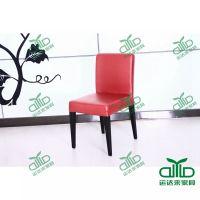 时尚西餐厅餐椅 金属烤漆椅 ,各种餐厅家具 都可来图运达来定做