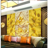 河南省天目工艺供应酒店砂岩雕塑浮雕、砂岩背景墙