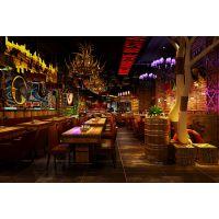 石家庄酒吧装修设计——大空间装饰