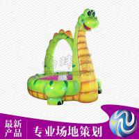 南玮星恐龙鱼池玻璃钢电玩设备室内外儿童公园游乐设备厂家