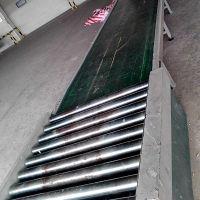 北京房山物流公司定制自动伸缩式滚筒输送线 箱包输送乾德品牌
