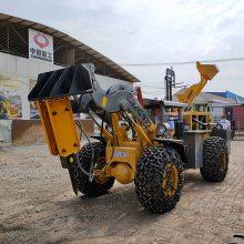 小型装载机煤矿专用卧式巷道铲车拆卸简单小铲车QIHS