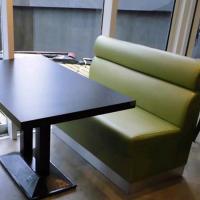 厂家直销 现代时尚实木餐桌 6人位咖啡厅餐厅桌子 热卖中········