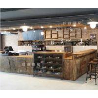 供应上海韩式咖啡厅吧台定做韩式咖啡厅桌椅定做