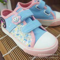 回力童鞋 韩版正品学生儿童可爱糖果碎花帆布鞋 童鞋厂家批发直销