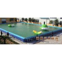 吉林省白山市大型支架水池户外游泳池安装方法