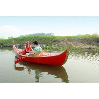 贡多拉木船公园情侣手划船澳门威尼斯酒店游船欧式观光客船