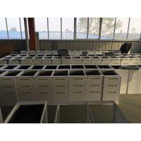 丰龙简约钢制三抽活动柜 办公桌配套落地柜 办公抽屉柜 矮柜资料柜桌底柜