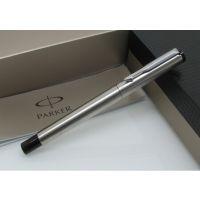 供应派克钢笔 派克笔 parker威雅 钢杆白夹 钢笔礼品 正品 金属钢笔 无锡礼品定制