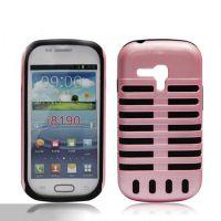 【厂家直销】i8190麦克风手机壳 三星麦克风手机保护套