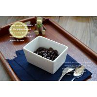 骨瓷烘焙模具 长方形布丁碗 创意小烤碗 西餐厅用具