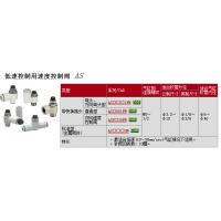 供应SMC速度控制阀AS4000-02现货