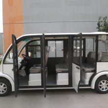 好力品牌厂家直销 11人座电动观光车 新能源观光电瓶车 全封闭多色