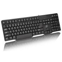 追光豹Q8 有线键盘 游戏 办公PS/2台式机键盘 外接防水 电脑批发