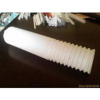 厂家直销伸缩管 钢丝伸缩管 通风伸缩管 白色钢丝伸缩管