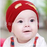 厂家直销韩版可爱汽车标宝宝套头帽 秋冬保暖毛线帽子