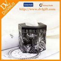 供应 酒店用品 餐厅纸巾盒 六角形纸巾盒 时尚纸巾盒 礼盒GS03016