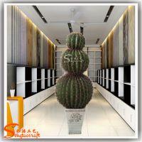 厂家批发仿真室内仿真盆栽 仿真仙人掌 墨西哥仙人掌戈壁场景造景