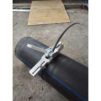 PE管刨边器 翻边切除器卷边检验工具 内翻边刨刀焊环切刀燃气管道刨边机