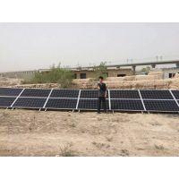 酒泉程浩供应:布隆吉乡3000w太阳能光伏水泵发电系统