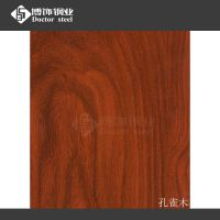 厂家直销不锈钢木纹 优质304不锈钢拉丝板 热转印不锈钢立体红橡木