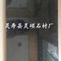 供应优质中国黑花岗岩墓碑|中国黑墓碑石黑色花岗岩墓碑厂家|灵硕石材