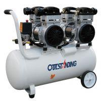 奥突斯OTS-1500x2-60L 3kw空气压缩机 无油静音气泵空压机喷漆喷硅藻泥