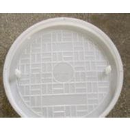 供应圆形水泥盖模具,混泥土砼块井盖塑料模