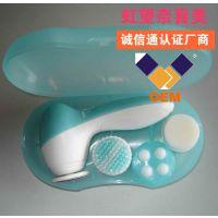 洁面仪 美容电器生产厂家OEM帖牌加工面部保健按摩电动洁面仪