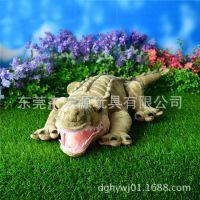 定做鳄鱼毛绒玩具 卡通鳄鱼公仔 海洋动物公仔 影视动漫鳄鱼公仔