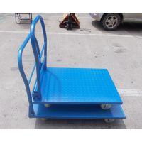 钢板拉货车折叠便携平板车铁板推货车货运手推车货车手拉车小推车