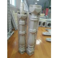 供应天艺流线型廊柱70cm高 水泥栏杆 塑料模具