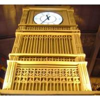 康巴丝带夜光的景观大钟 广场塔钟