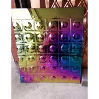 包边用翡翠绿镜面不锈钢板 不锈钢板电镀七彩颜色 紫罗兰拉丝板