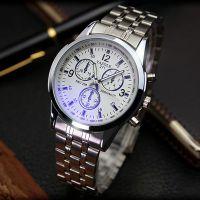 天朗格休闲钢带蓝光手表潮流时尚男表个性商务休闲手表男士非机械时装表