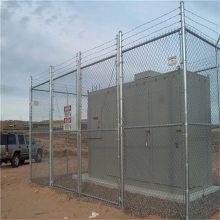 旺来球场护栏网生产厂家 小区体育场围栏 包塑勾花网多少钱