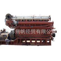 二手潍柴6160系列吸沙船渔船货轮300马力翻新船用柴油机