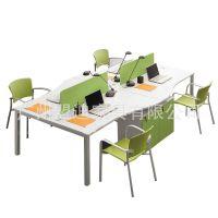 组合老板办公桌 时尚简约职员桌 屏风隔断电脑桌 职员桌椅 可定做